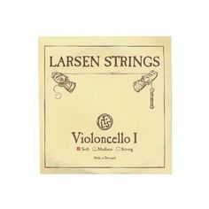 Cello Strings 4/4 Set Larsen Medium A+D, Spirocore Tungsten G+C by Larsen, Pirastro. $237.50. Larsen Cello strings are world renowned for their great strength and volume. They have a deep, beautiful sonority with a distinct clarity, due to their clear attack and immediate reaction. Made with a flexible spiral rope core, Spirocore strings offer less inertia, allowing a longer period of musical vibration that is equally effective when playing arco or pizzacato.