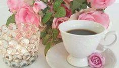Καλημέρα: όμορφες εικόνες - eikones top Tea Cups, Tableware, Dinnerware, Tablewares, Dishes, Place Settings, Cup Of Tea