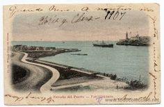 CUBA, LA HABANA,ENTRADA DEL PUERTO, CIRCULADA, SIN DIVIDIR (Postales - Postales Extranjero - América - Cuba)