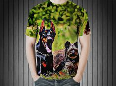 T-Shirt - German shepherd grass dogs https://www.donateprint.com/products/600001045288