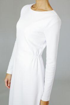 Q.Noor LDS Temple Dress Marilyn