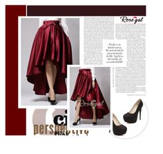 """""""Rosegal"""" by amra-mak ❤ liked on Polyvore featuring vintage and rosegal"""