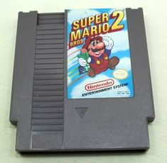 Super Mario Bros 2 (1988) Nintendo Nes Cartridge/Sleeve Nes Cartridge, Super Mario Bros, Nintendo, Entertaining, Games, Store, Sleeve, Ebay, Tent