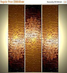 Original gran textura pintura empaste abstracta por Laffertyart