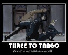 Tango in the Rain ||| Scar, Roy, and Riza ||| Fullmetal Alchemist