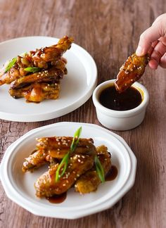 Sweet and Sour Baked Chicken Wings | Community Post: 14 Insanely Delicious Game…