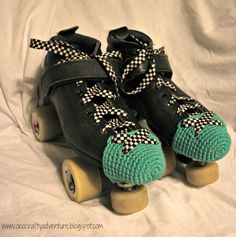 A while ago - when I was still playing roller derby before I got pregnant - I made up some toe guards for my roller skates . I wanted to ...
