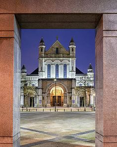 St Anne's Cathedral - Belfast Print by Barry O Carroll St Anne, Popular Photography, Donegal, Dublin Ireland, Belfast, Fine Art America, Facade, Cathedral, Saints