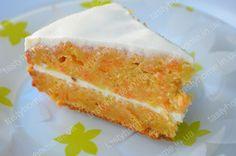 Морковно-сметанный торт