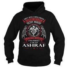 ASHRAF Good Heart - Last Name, Surname TShirts
