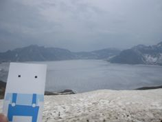 At the sweet mountaintop lake.  Lake Chon / Mt. Baekdu , North Korea