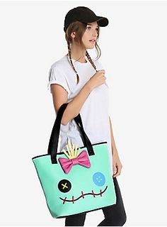 St-itching for a new bag?   Loungefly Disney Lilo And Stitch Tote