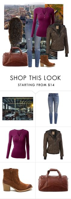 """""""""""Queen of the South"""" - Teresa Mendoza Before"""" by kmacpink on Polyvore featuring Levi's and Doublju"""