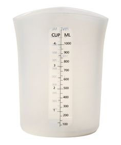 Take a look at this Silicone 4-Cup Measure, Stir & Pour Cup by Norpro on #zulily today!