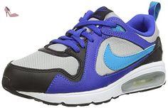 Nike Air Max Trax (PS), Sneakers Basses Mixte Enfant - Bleu (Mtllc Silver/BL LGN-Lyn BL-blk 008), 32 EU