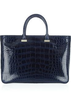 The Rowsmall day luxe alligator tote