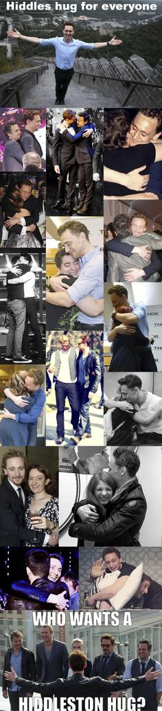 Hiddles Gives The Best Hugs. Lots And Lots Of Hugs, To Everyone! | Community Post: This Post Will Destroy Your Life
