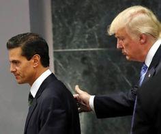 LA MANO QUE MECE LA CUNA. Una semana antes de que el candidato Republicano Donald Trump, fuera invitado por el presidente Enrique Peña Nieto a visitar a nuestro país; éste no lo pensó dos veces y en un viaje relámpago se dejó venir.