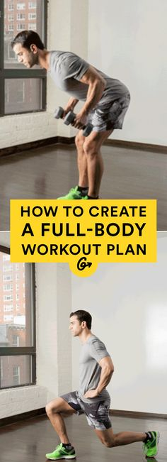 Why pay for a personal trainer when you can DIY? #workout #strength #training http://greatist.com/move/workout-plan-how-to-create-your-own-full-body-routine