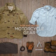 This month we're looking at new vintage gear from Italy, a retro helmet with modern technology, a new urban moto jacket, and an incredible deal on selvedge denim riding jeans. Hide that credit card.