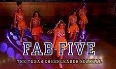 Fab Five The Texas Cheerleader Scandal dvd movie