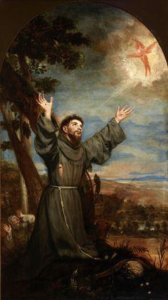 Catholic Art, Catholic Saints, Religious Art, Religious Photos, St Francisco, St Francis Assisi, Saint Robert, Christian Warrior, Spanish Painters