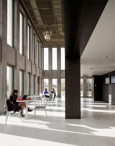 FR, Paris (Jouy-en-Josas), HEC MBA Building. David Chipperfield Architects, 2012.
