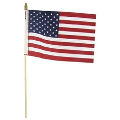 U.S.A. Flags $3.99-Need about 20 more of these for the yard