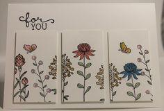 Stampin' Sarah!: A Flowering Fields Panel Card from Stampin' Up! UK Demonstrator Sarah Poulton
