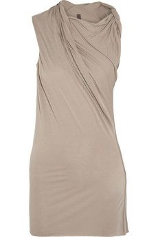 Rick Owens Lilies draped jersey top | THE OUTNET