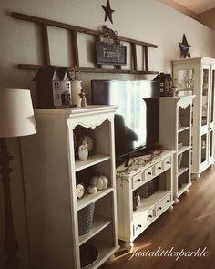 Rustic decor, neutrals, cozy living room
