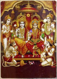 Ram Darbar (Reprint on Metallic Paper - Unframed)