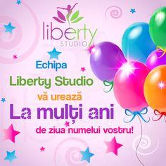 Cu ocazia zilei tale de nume, Echipa #LibertyStudio îţi dorește să ai parte de toată bunătatea vieţii, de fericire şi de împliniri. La mulți ani sănătoși! Let It Be, Money, Silver