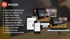 Pager - Agency HTML5/CSS3 Template