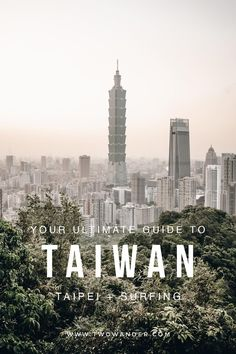 In this travel guide we'll show you how to have a great time in Taiwan, from all the street markets in Taipei, to visiting the Spirited Away cultural town Jiufen, to surfing on the black sand beach of Waiao. Two Wander - Your ultimate guide to Taiwan! #taiwan #taiwantravelguide #taiwanguide #taiwantravel #spiritedawaytown #taipei #taipeitravel #taipeitravelguide #taipeiguide #twowander #taiwansurf #travel #travelguide #asia Taipei Travel Guide, Taiwan Travel, Asia Travel, Amazing Destinations, Travel Destinations, Travel Photos, Travel Tips, Black Sand, Sand Beach