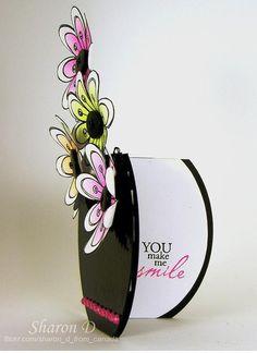 Flower Vase Card - bjl