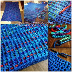 mesh crochet woven with fabric | ... mesh, close up of a chain strand being woven into the mesh, another