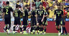 Goleada de España para despedir una pesadilla de Mundial