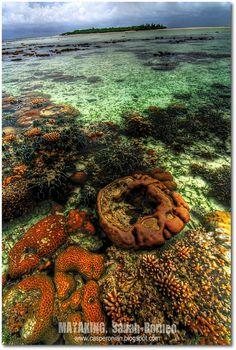 Mataking Island, Sabah-Borneo  by Casperonian