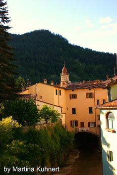 Laundry day in Marradi, a small mountain village on the border to Tuscany