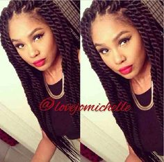 i sooo want these . my next protective style ! #twists #protectivestyle