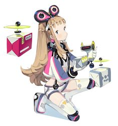 냉차(@nangchacha) 님 | 트위터의 미디어 트윗 Female Character Design, Character Design Inspiration, Game Character, Character Concept, Concept Art, Robots Characters, Anime Characters, Acid Trip Art, People Illustration