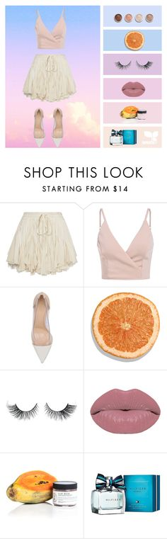 """""""Up in the Air"""" by mydesignplace on Polyvore featuring Gianvito Rossi, Terre Mère, Winky Lux, Birchrose + Co. and Tommy Hilfiger"""