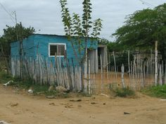 A typical home in La Lechuga, one of the communities Andean Aid has provided with a Help and Hope Center to provide educational assistance to children, as well as an Early Reading and Writing Program.