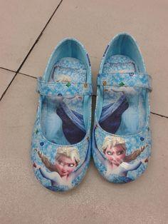 Frozen anna and elsa shoes
