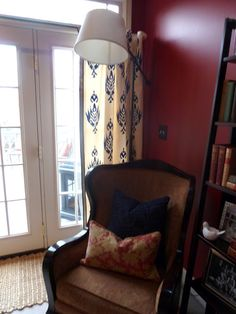 Stenciled Drapes! - Our Fifth House
