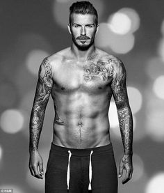 All about abs: Women want a David Beckham six pack on their boys and men prefer Rihanna's taut tummy to Kelly Brook's curvy bottom | Mail Online