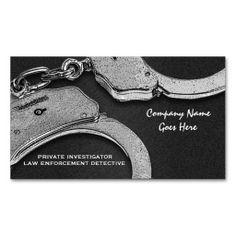 Private investigator business card private investigator business private investigator law detective enforcement business card templates colourmoves