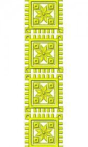 Batik Lace Embroidery Design 16572