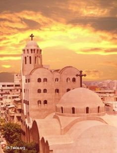 alexandria egypt,church | Coptic Orthodox Church: St. Takla Himanot Church, Alexandria, Egypt ...